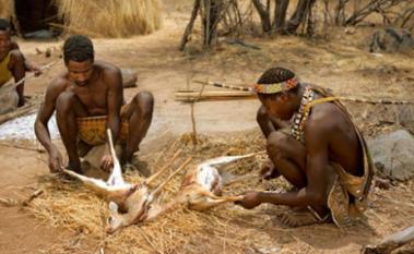 Adzabe tribe in tanzania1